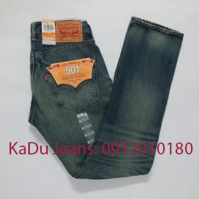 quan jeans levi's 501 1847