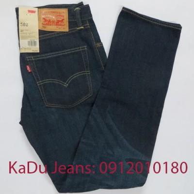 quan jeans levi's 502 0222