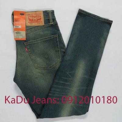 quan jeans levi's 502 0425