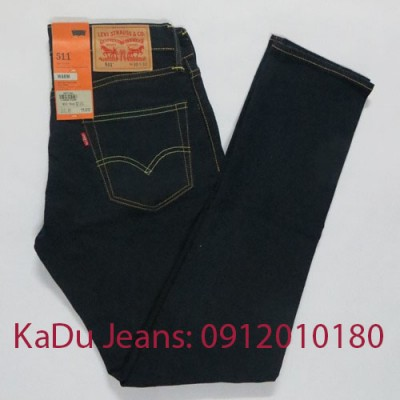 quan jeans levi's 511 1343