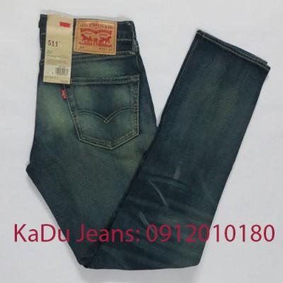 quan jeans levi's 511 1364
