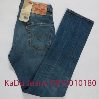 quan jeans levi's 513 0350