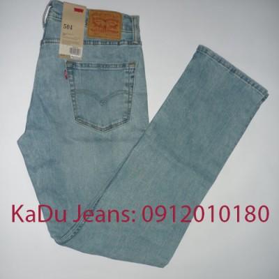 Quần Jeans Levi's 504 0337